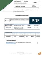 INFORME TECNICO-  GRUPO ELECTROGENO ALQUILER  FLESAN