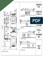 Plano de Casa 6x10 Metros 60 Metros Cuadrados