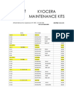 MAINTENANCEKITS