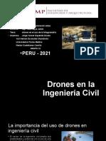 Los Drones en La Ingenieria Civil