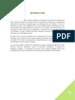 MICROBIOLOGÍA DE LAS AGUAS RESIDUALES
