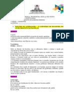 FUNÇÕES DA LITERATURA - 1ª SÉRIE