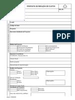 Formulário de analise técnica