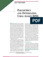 PARAMETRICS AND OPTIMIZATION USING ANSOFT HFSS_10.1.1.169.1598[1]