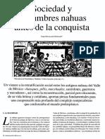 sociedad nahua, 6 pages
