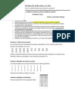 Taller medidas de tendencia central y medidas de posición 9° 2021-02