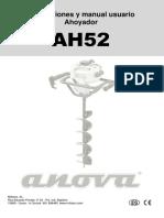 Ahoyador Perforador ANOVA Para Toyama
