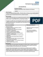 Research & Evidence Assistant (12 months) Job Desc