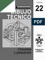 Dibujo Tecnico Chavetas Pasadores