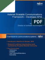 FOSDEM 2011 Asterisk SCF Developer APIs