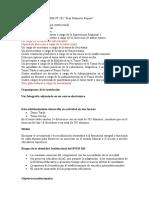 analisis institucional PEI
