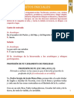 Misal Ordenacion Episcopal Mons Pedro Mena 2017