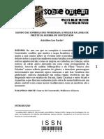 Artigo Aristides 2013