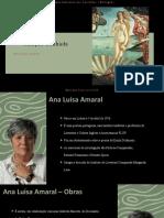 Criação Sonhada de Ana Luísa Amaral