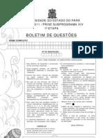 Prova Prosel 2011 1ª etapa - Prise subprograma XIV