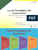 Gestión Tecnológica y del Conocimiento semana 1