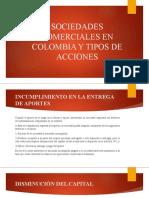 Sesión III - Sociedades Comerciales y Acciones