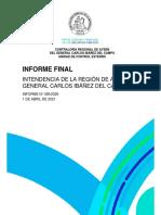 Informe Final Nº 395-2020 Intendencia Región de Aysén Sobre Segunda Etapa Programa Alimentos Abril-21