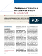 AAN 2014 $Corne anterieure  nerf jonction neuromusculaire  muscle