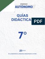APRENDIZAJE AUTONOMO 7°