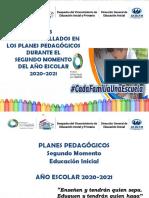 Planes Pedagógicos Segundo  Momento Educación Año escolar 2020 2021