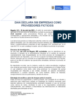 DIAN declara 506 empresas proveedores ficticios_19abr2021_