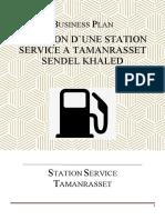 Etude station essence