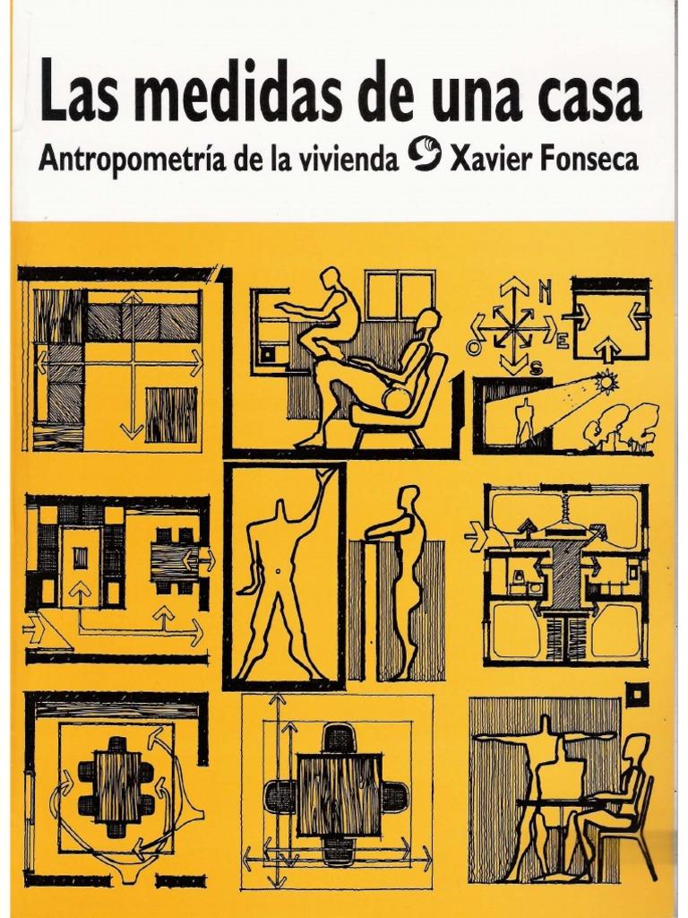 Baños Medidas Neufert:Las Medidas de una casa – Xavier Fonseca