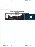 Villa Caritas Hazard Assessment