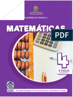 Ct1 Matematicas 4to Grado Se 2020