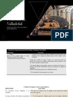 Polémica de Valladolid actividad
