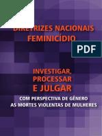 Livro Diretrizes Nacionais Femenicidios Versao Web