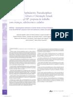 Ambulatório transdisciplinar de diversidade de gênero e orientação sexual