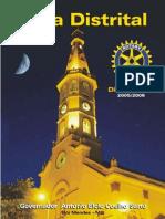 Guia Distrital - Ano Rotário 2005-06