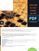 Global Bee Colony Disorder and Threats Insect Pollinators