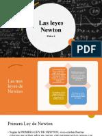 Las leyes Newton