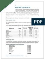 EJERCICIO COSITAS RICAS .-PTO EQUILIBRIO