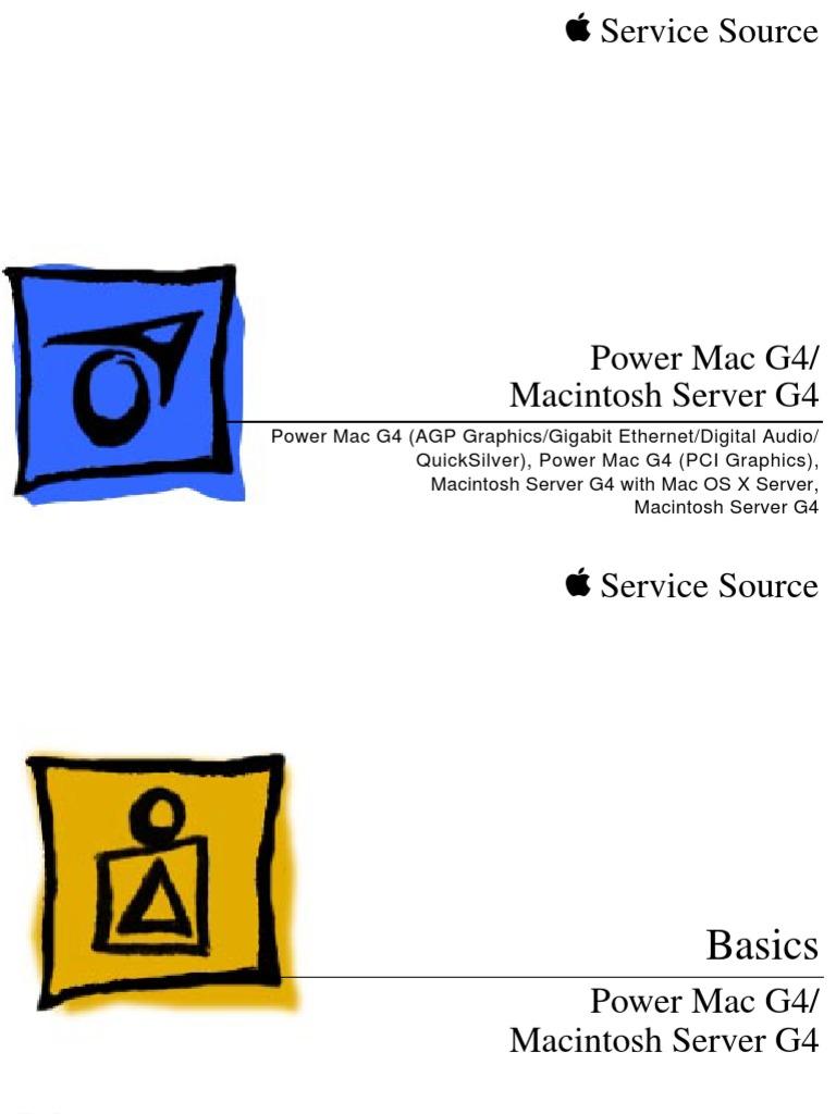 apple service manual power mac g4 mac server g4 macintosh airport rh scribd com powerbook g4 service manual power mac g4 quicksilver service manual