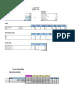Internal Cost Analysis