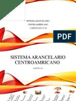 Sistema Arancelario Centroamericano 9 y 10