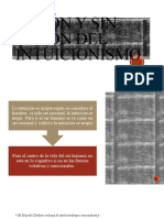 Razon y sin razon del intuicionismo