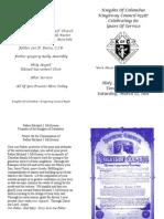 Mass Booklet