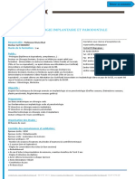 0320 Chirurgie Implantaire Et Parodontale - Du