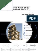 REGISTRO DE PREDIOS