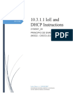 10.3.1.1 IoE and DHCP Instructions