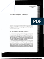 What is project finance