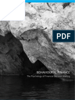 Behavioural Finance Psychology Financial Decision Making