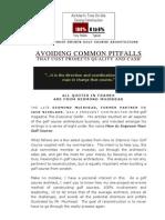 14 Avoiding Common Pitfalls