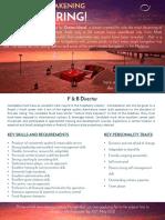 Job Advert - F & B Director (1)