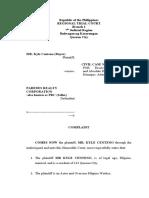 Legal Complaint